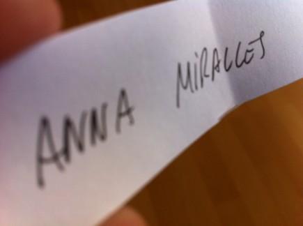 Anna Miralles, ¡¡felicidades!!